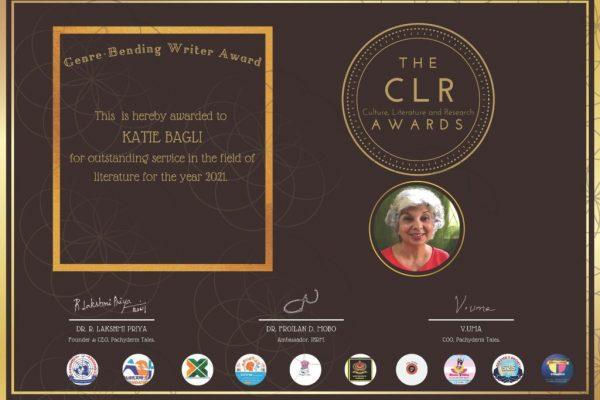 CLR award Katie Bagli